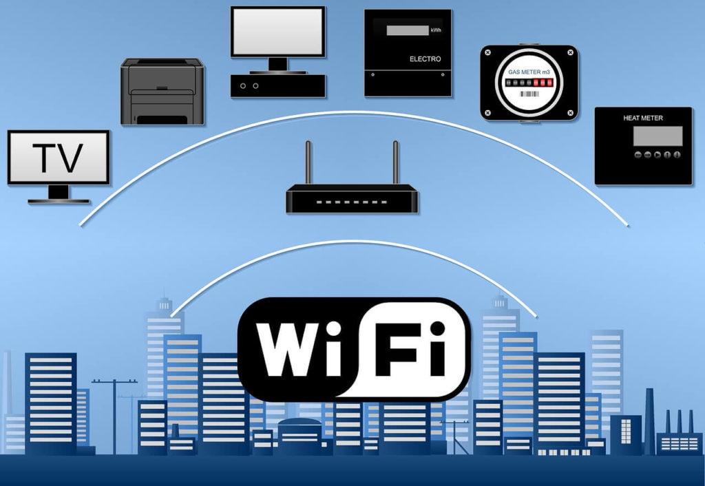 Wi-Fiと接続機器